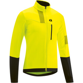 Gonso Valaff Softshell Jacke Herren safety yellow/black